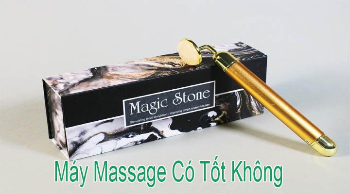 Máy Massage Mặt Bằng Đá Cẩm Thạch Magic Stone