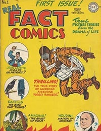 Read Real Fact Comics comic online