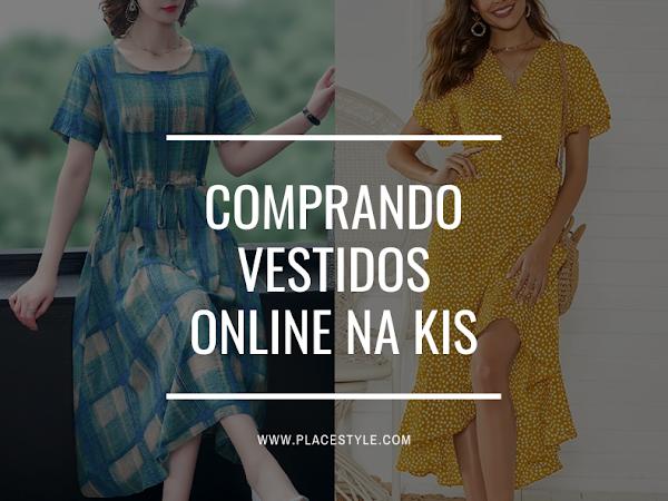 Comprando vestidos online na Kis