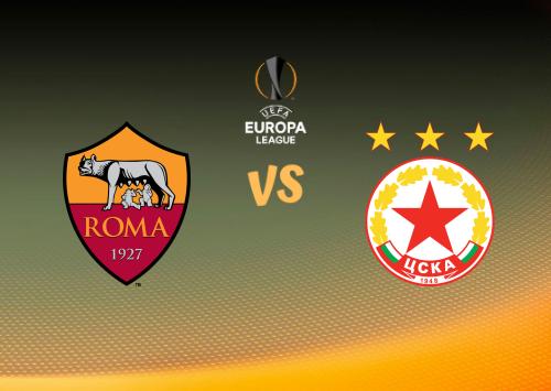 Roma vs CSKA Sofía  Resumen