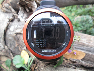 Jam Tangan Outdoor NORTH EDGE Amphibi Fishing Weather Altimeter Barometer Thermometer Waterproof
