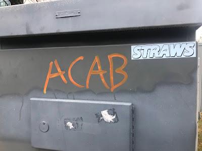 ACAB written on side.