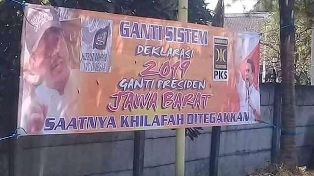 HTI Tunggangi #2019GantiPresiden, PKS Pastikan Hanya Isapan Jempol