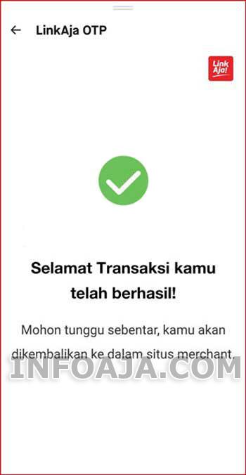 LinkAja Terhubung aplikasi GoJek