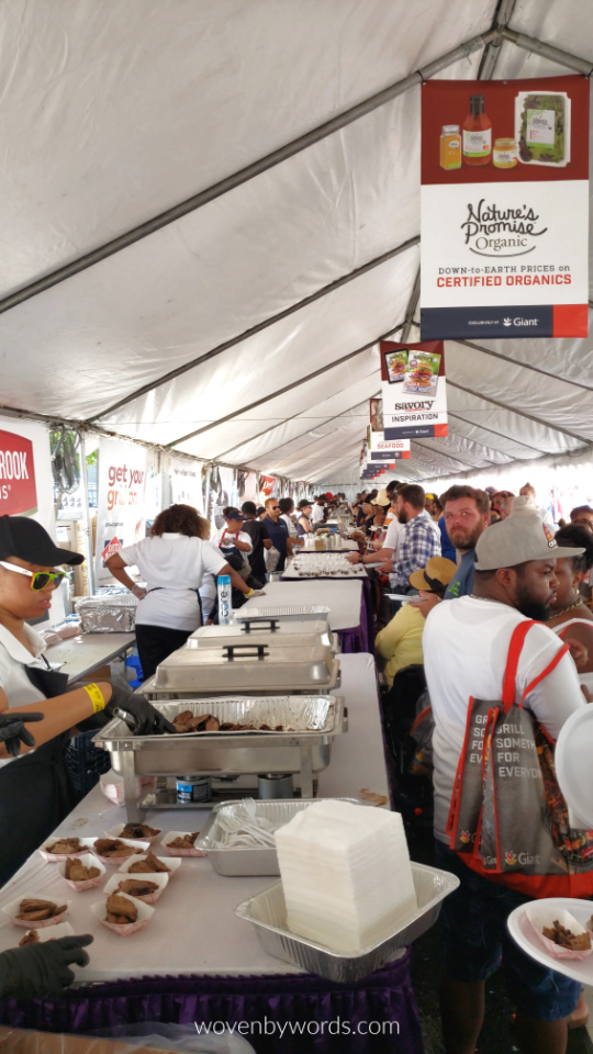 Woven by Words: 27th Annual Giant National Barbecue Battle