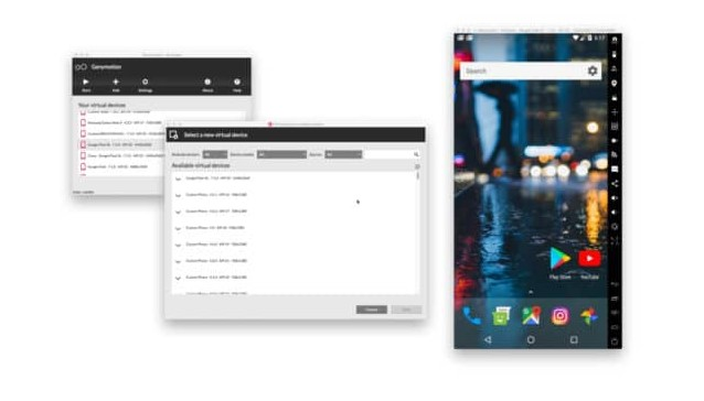 Android Emulator Tercepat