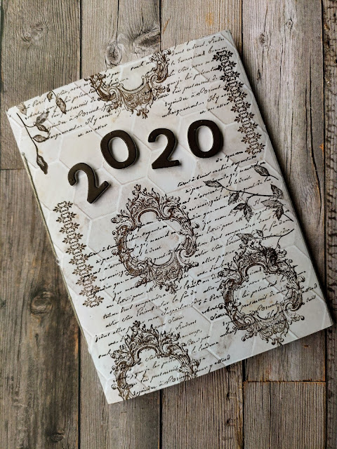 Stampin' Up DSP In Good Taste Junk Journal Cover