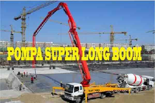 Harga Sewa Pompa Super Long Boom