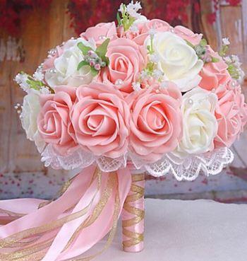 Contoh Hand bouquet pengantin