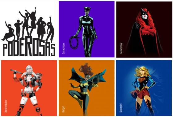 Poderosas, la Colección de ECC Ediciones Sobre las Mujeres de DC Comics