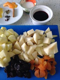 Trocear frutas