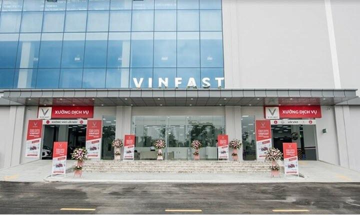 VinFast khai trương thêm 14 xưởng dịch vụ