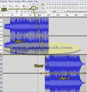 Cara Menggabungkan Lagu MP3 Dengan Audacity