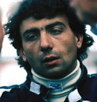 Michele Alboreto during his period driving for Tyrrell