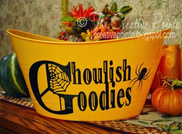 The Creative Pointe Halloween Treat Tubs Amp A Svg Freebie
