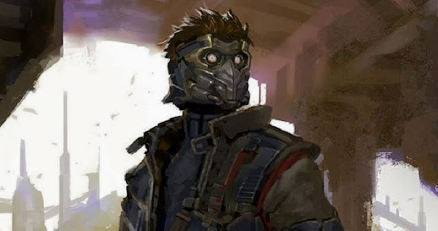 Star-Lord y Nova Corps en Guardians of the Galaxy