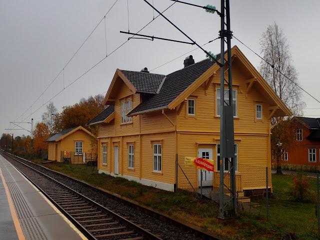 Stacja kolejowa w Torp