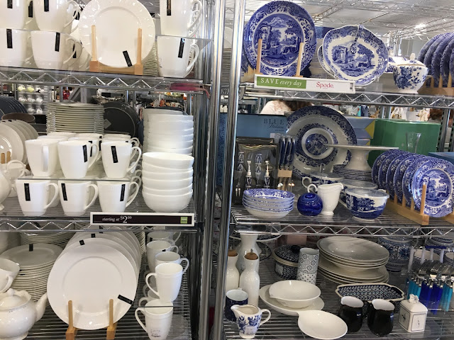 Dishes in New Homesense store