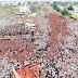 करणी सेना द्वारा राजपूताने का सबसे बड़ा प्रदर्शन ,माहारैली  चित्तौरगढ़ राजस्थान में
