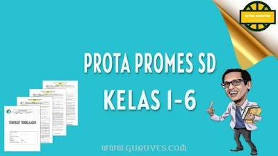 Kali ini kami akan membagikan prota promes Download Prota Promes Pjok SD Kelas 1-6 Kurikulum 2013