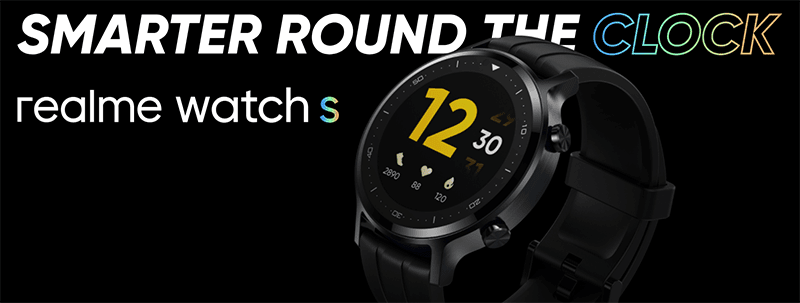 realme Watch S with rounded display and up to 15 days battery now official