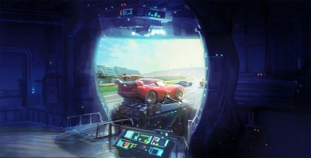 Atração Lightning McQueen's Racing Academy