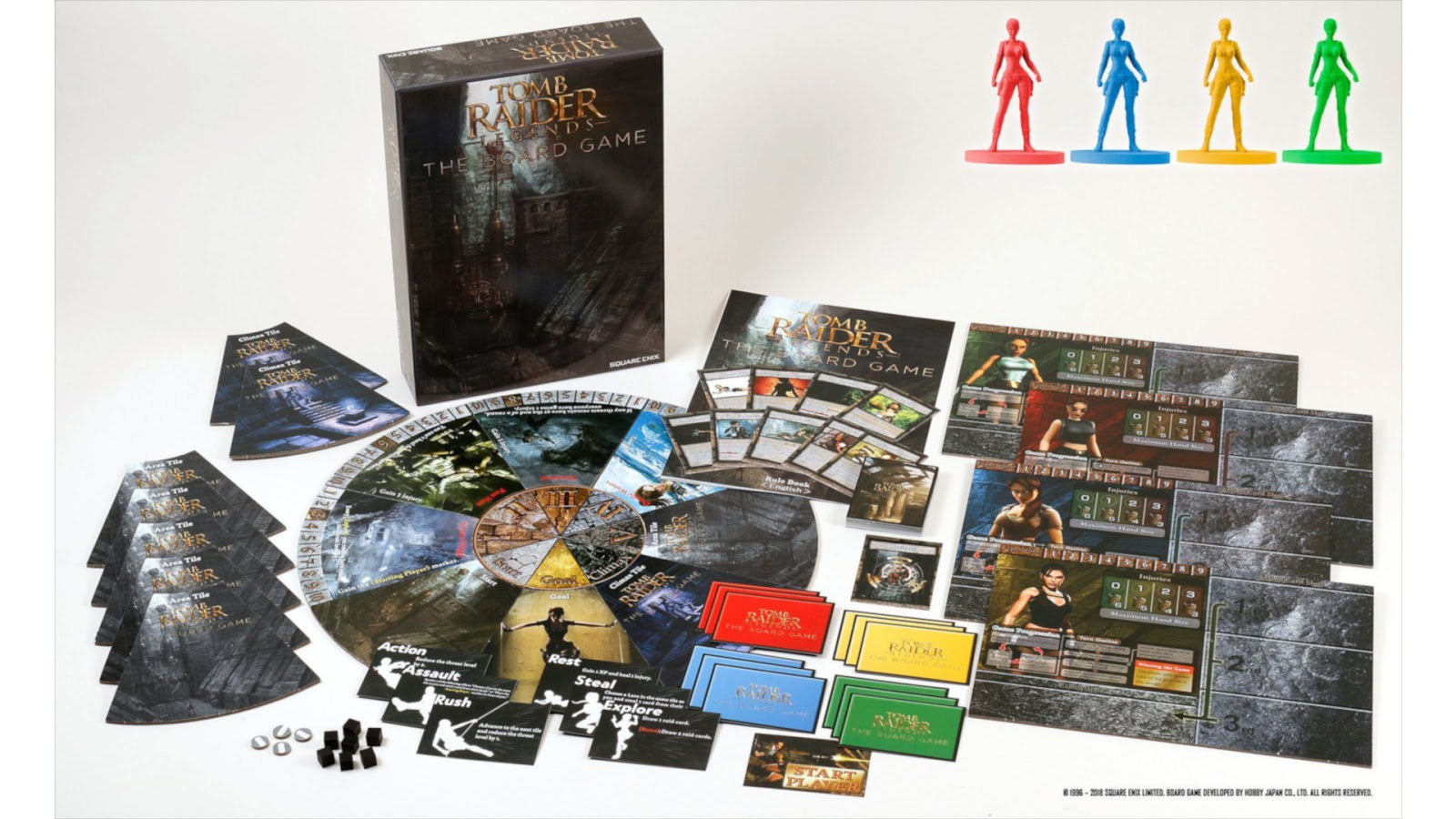 Tomb Raider Board Game News