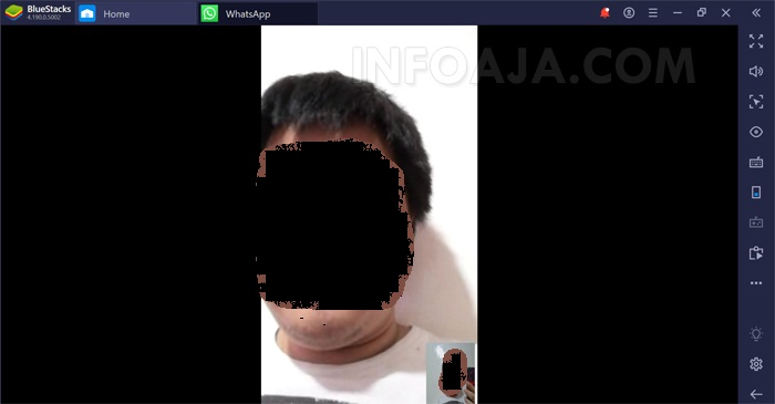 Video Call dari WhatsApp Web Melalui PC