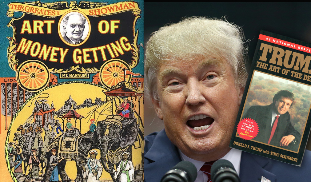 Downwithtyranny trumpf says when people call him pt barnum he id venture to guess that most people who have heard of phineas taylor barnum pt barnum think he coined the phrase theres a sucker born every minute stopboris Choice Image