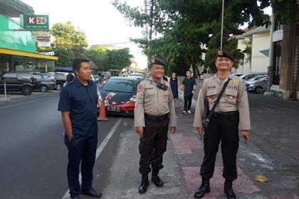 Pengamanan Misa Polsek Ngampilan di GKI Ngupasan Cegah Gangguan Kamtibmas