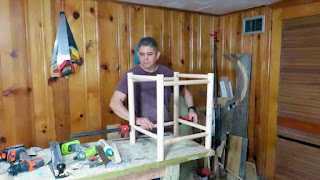 Armando la estructura de madera