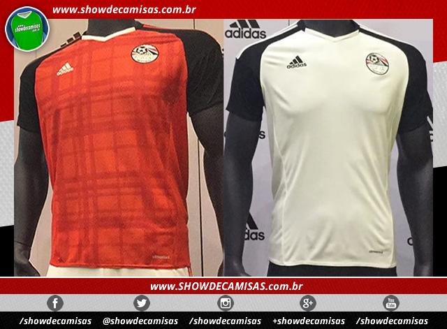 1dbfec14e Adidas apresenta as novas camisas do Egito - Show de Camisas