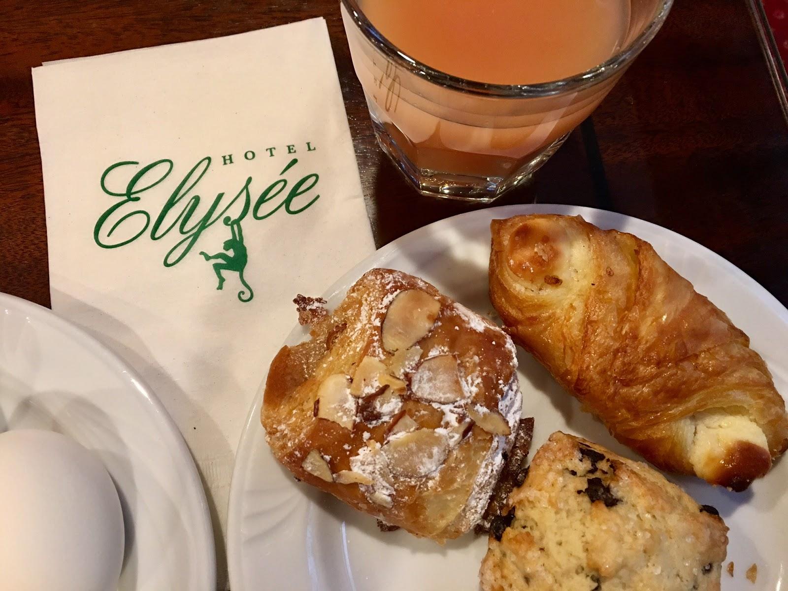 Hotel Elysee Free Breakfast