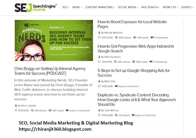 Free online resource for seo