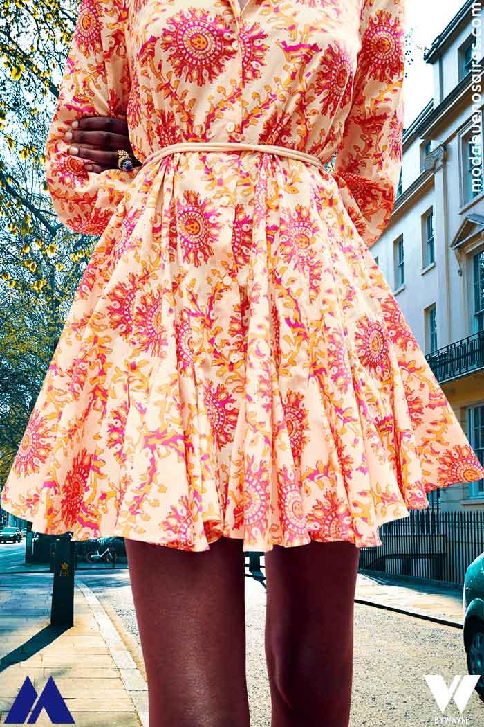 vestidos estampados verano 2022