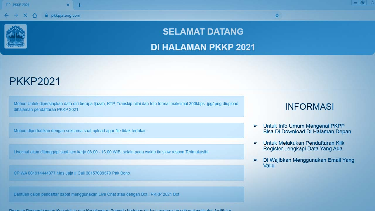 Pemprov Jateng Buka Pendaftaran Program PKKP Untuk S-1, Ini Informasi Selengkapnya