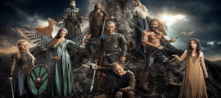 Vikings - 1ª Temporada Completa Torrent 2013 720p Bluray HD