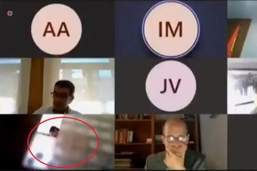 ڤیدیۆ.. بەرپرسێک لە گەرماودا بەشداریی کۆبوونەوەی کردووە