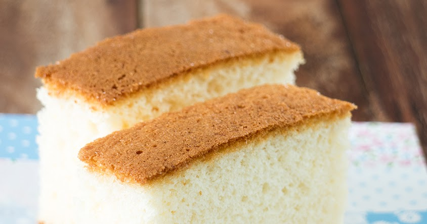Fluffy Sponge Cake Without Butter