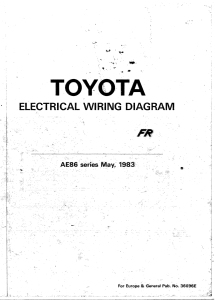 AE86 WIRING - Auto Electrical Wiring Diagram on