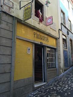 Unassuming Piriquita store front