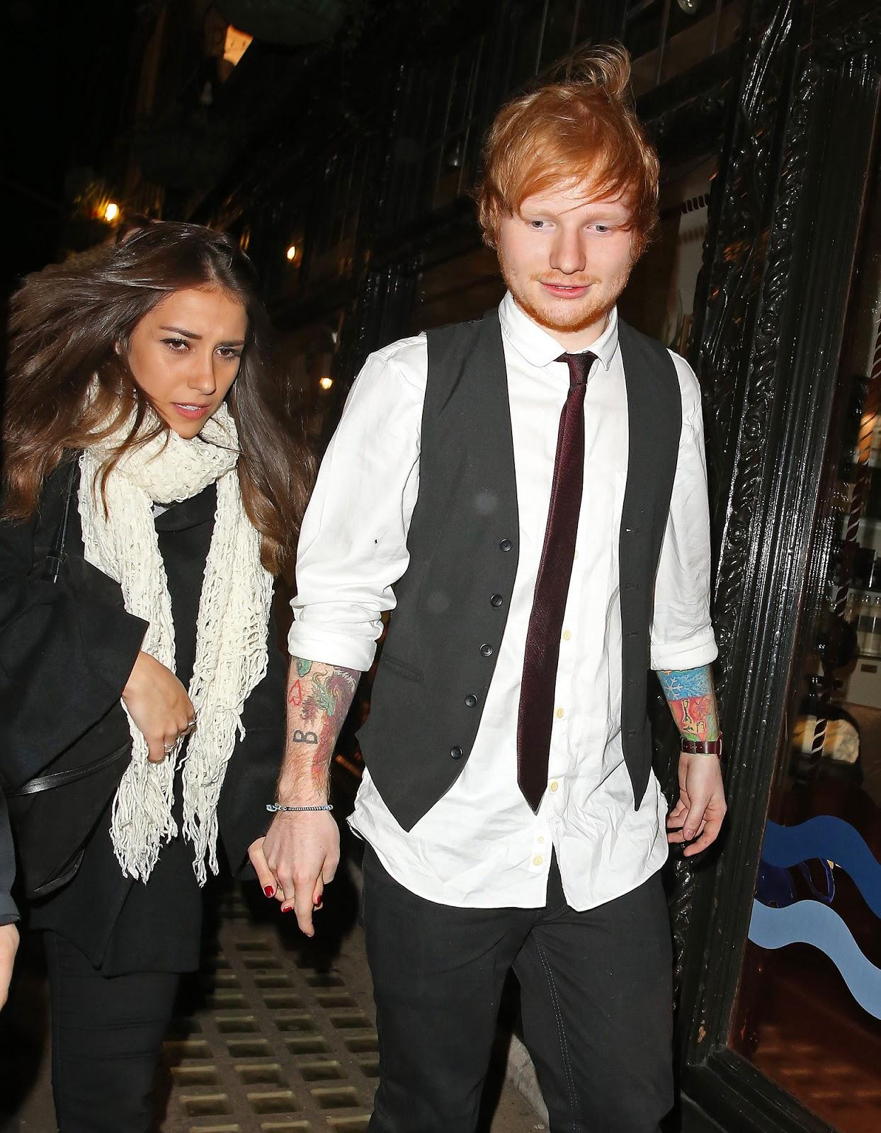 Ed sheeran dating athina andrelos images