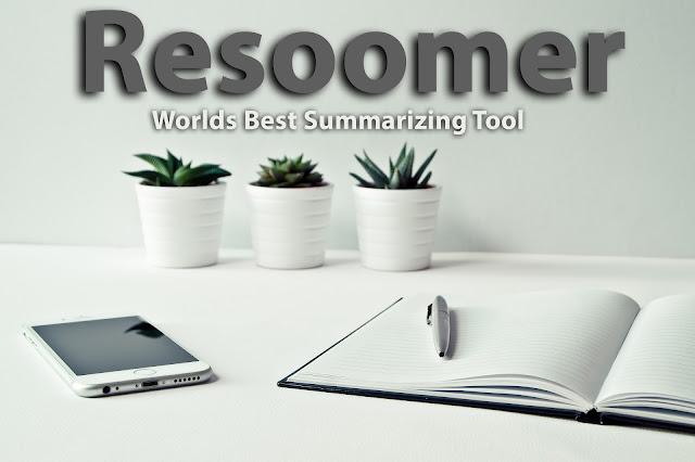 Resoomer: Effective Online Summarizing Service