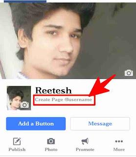 Facebook page ka username change kaise kare 2