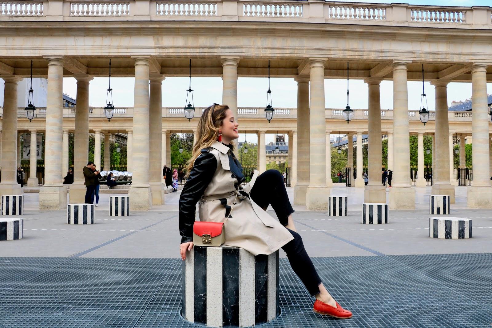 Paris Le Palais Royal blogger pics