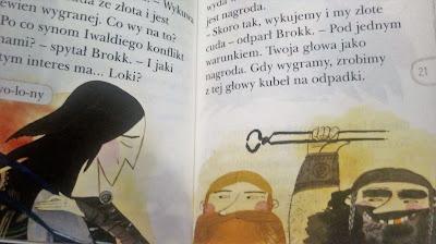 thor i loki egmont czytam sobie