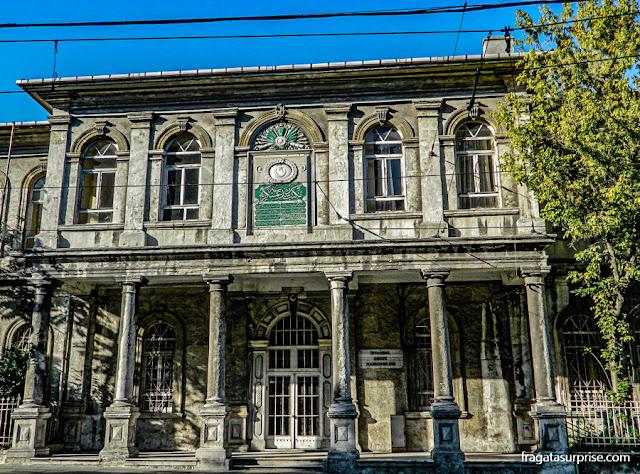Edifício no bairro de Sultanahmet, Istambul