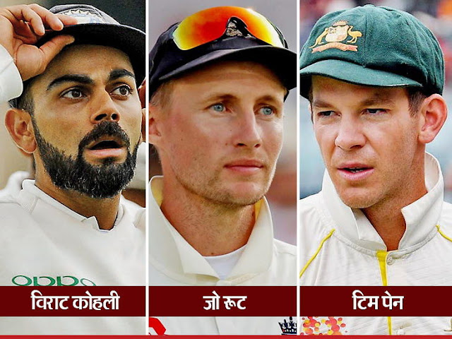 Test championship india on top