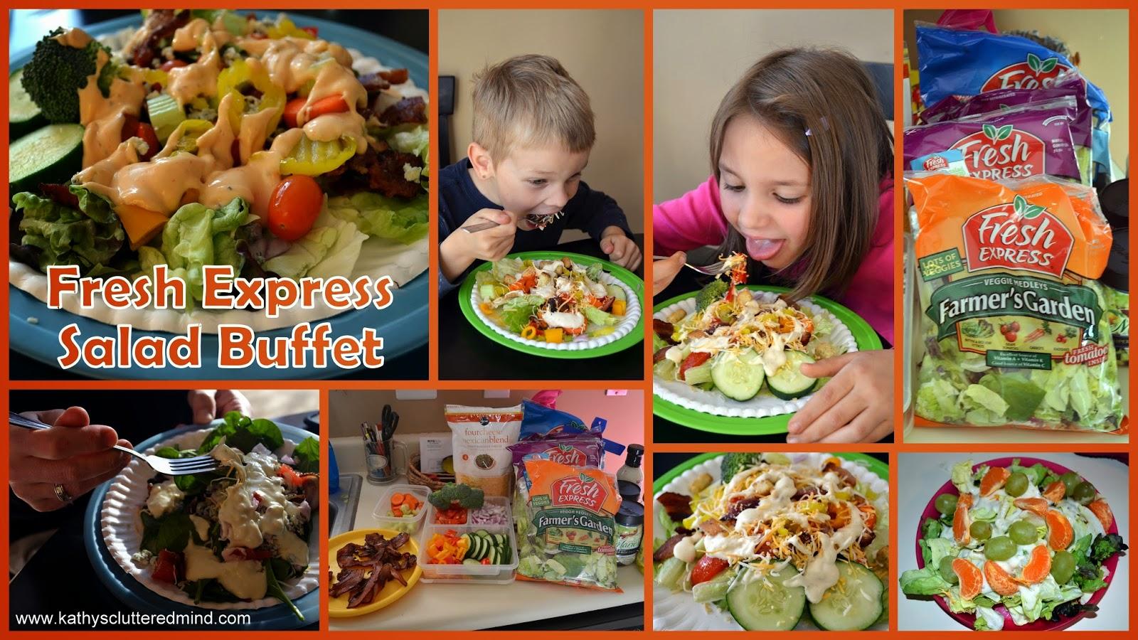 Kathys Cluttered Mind: Fresh Express Salad - Fresh, Healthy