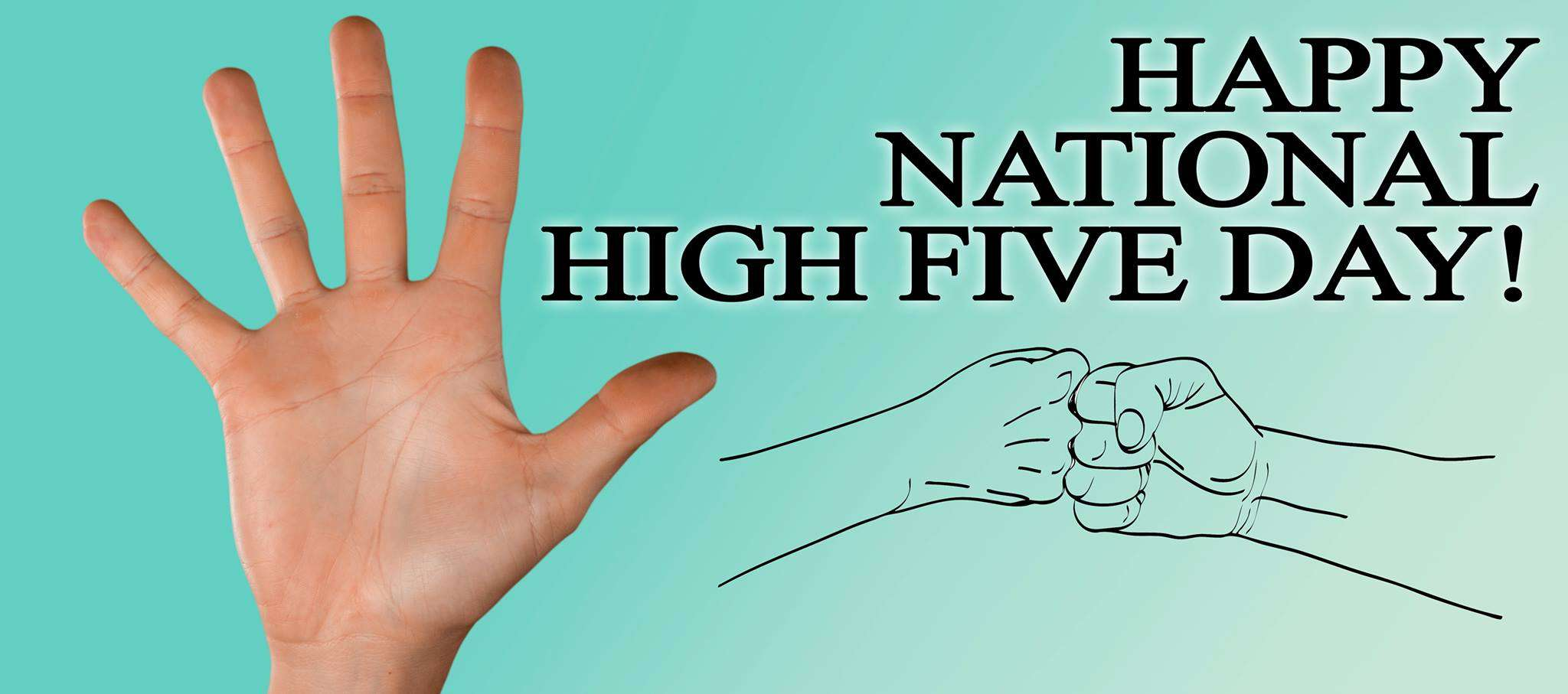 National High Five Day Wishes for Instagram